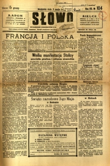 Słowo, 1929, R. 8, nr 104