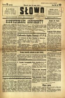Słowo, 1929, R. 8, nr 110