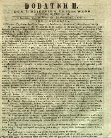Dziennik Urzędowy Gubernii Radomskiej, 1845, nr 41, dod. II
