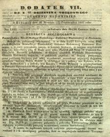 Dziennik Urzędowy Gubernii Radomskiej, 1845, nr 41, dod. VII