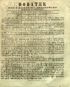 Dziennik Urzędowy Gubernii Radomskiej, 1845, nr 44, dod.