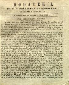 Dziennik Urzędowy Gubernii Radomskiej, 1846, nr 18, dod. I
