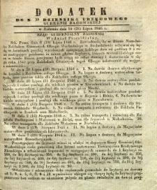 Dziennik Urzędowy Gubernii Radomskiej, 1846, nr 30, dod.