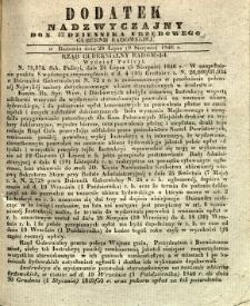 Dziennik Urzędowy Gubernii Radomskiej, 1846, nr 32, dod.