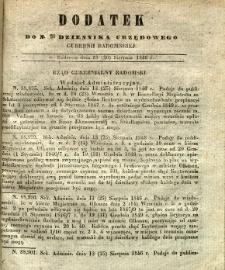 Dziennik Urzędowy Gubernii Radomskiej, 1846, nr 35, dod.