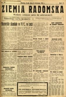 Ziemia Radomska, 1931, R. 4, nr 79