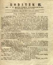 Dziennik Urzędowy Gubernii Radomskiej, 1846, nr 43, dod. II