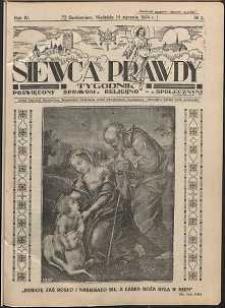 Siewca Prawdy, 1934, R. 4, nr 3