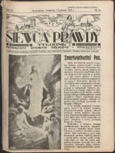 Siewca Prawdy, 1934, R.4, nr 14