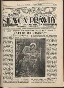 Siewca Prawdy, 1934, R.4, nr 16