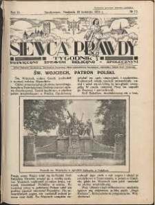 Siewca Prawdy, 1934, R. 4, nr 17