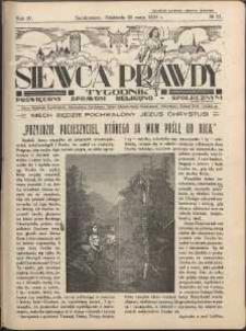Siewca Prawdy, 1934, R.4, nr 21