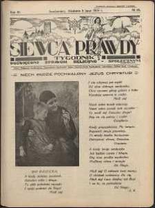 Siewca Prawdy, 1934, R.4, nr 28