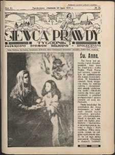 Siewca Prawdy, 1934, R.4, nr 30