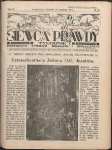 Siewca Prawdy, 1934, R.4, nr 38