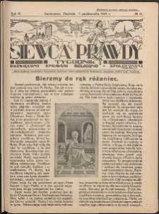 Siewca Prawdy, 1934, R. 4, nr 41