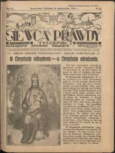 Siewca Prawdy, 1934, R.4, nr 44