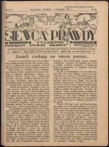 Siewca Prawdy, 1934, R. 4, nr 45