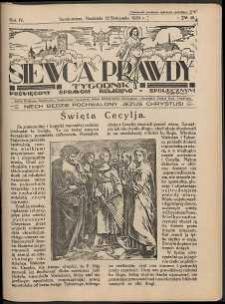 Siewca Prawdy, 1934, R.4, nr 48