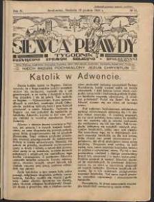 Siewca Prawdy, 1934, R. 4, nr 51