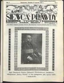 Siewca Prawdy, 1935, R. 5, nr 5