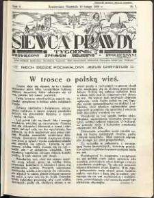 Siewca Prawdy, 1935, R. 5, nr 7