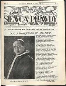 Siewca Prawdy, 1935, R.5, nr 8