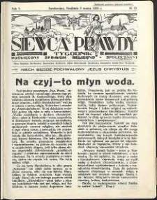 Siewca Prawdy, 1935, R.5, nr 10