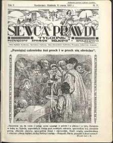 Siewca Prawdy, 1935, R. 5, nr 11