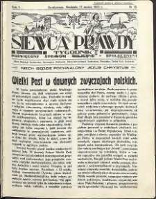 Siewca Prawdy, 1935, R.5, nr 12
