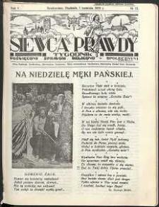 Siewca Prawdy, 1935, R. 5, nr 15