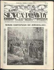 Siewca Prawdy, 1935, R.5, nr 16