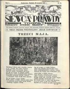 Siewca Prawdy, 1935, R.5, nr 18