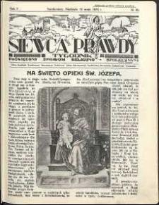 Siewca Prawdy, 1935, R.5, nr 20