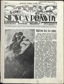 Siewca Prawdy, 1935, R. 5, nr 21