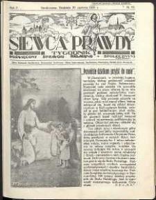 Siewca Prawdy, 1934, R.4, nr 27