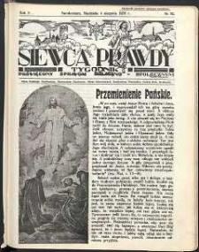 Siewca Prawdy, 1935, R. 5, nr 32