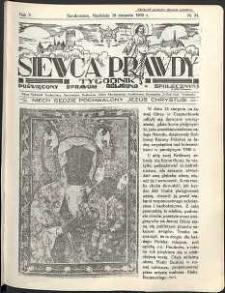 Siewca Prawdy, 1935, R. 5, nr 34
