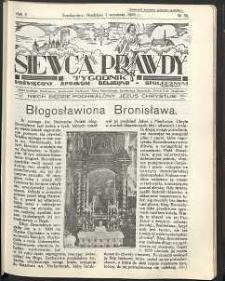 Siewca Prawdy, 1935, R. 5, nr 36