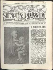 Siewca Prawdy, 1935, R.5, nr 37