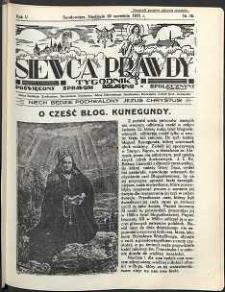 Siewca Prawdy, 1935, R.5, nr 39