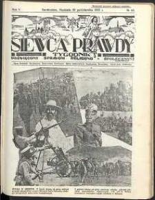 Siewca Prawdy, 1935, R. 5, nr 43