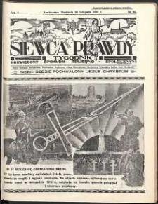 Siewca Prawdy, 1935, R. 5, nr 48