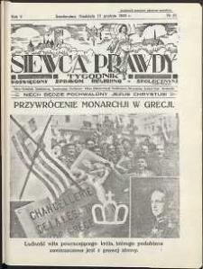 Siewca Prawdy, 1935, R.5, nr 51