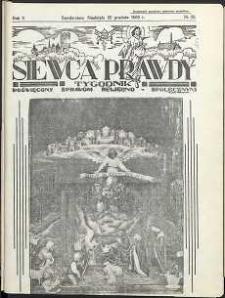 Siewca Prawdy, 1935, R. 5, nr 52