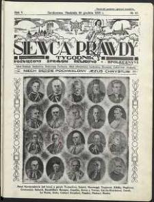 Siewca Prawdy, 1935, R.5, nr 53