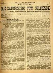Przegląd Sejmikowy : Urzędowy Organ Sejmiku Radomskiego, 1925, R. 4, nr 9, dod.