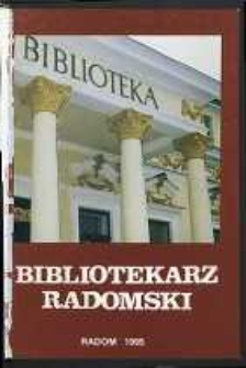 Bibliotekarz Radomski, R. 3, 1995, nr 3-4