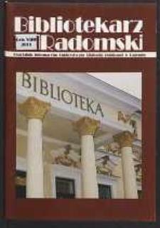 Bibliotekarz Radomski, 2001, R. 9, nr 1