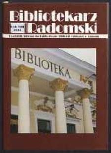 Bibliotekarz Radomski, 2001, R. 9, nr 2